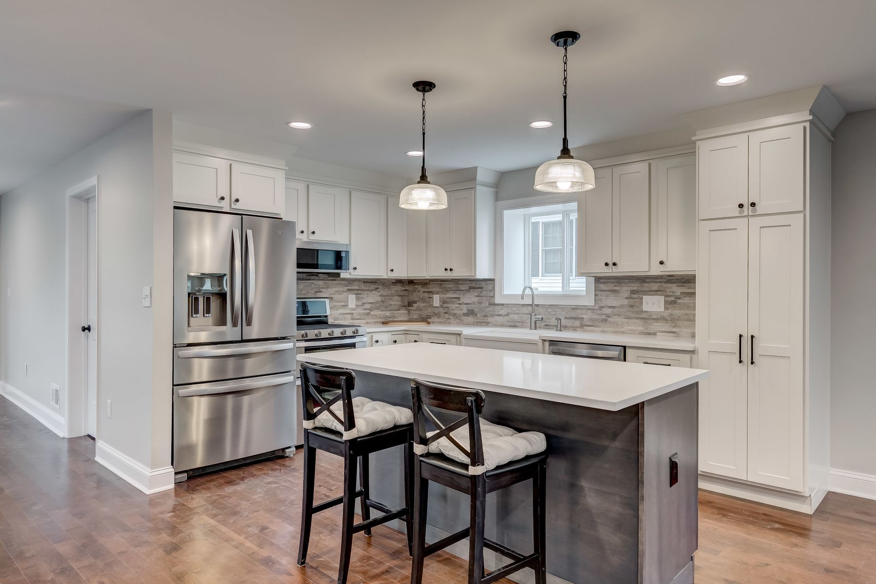 Gorgeous Kitchen in Second Story Addition and Renovation in Ruxton Maryland
