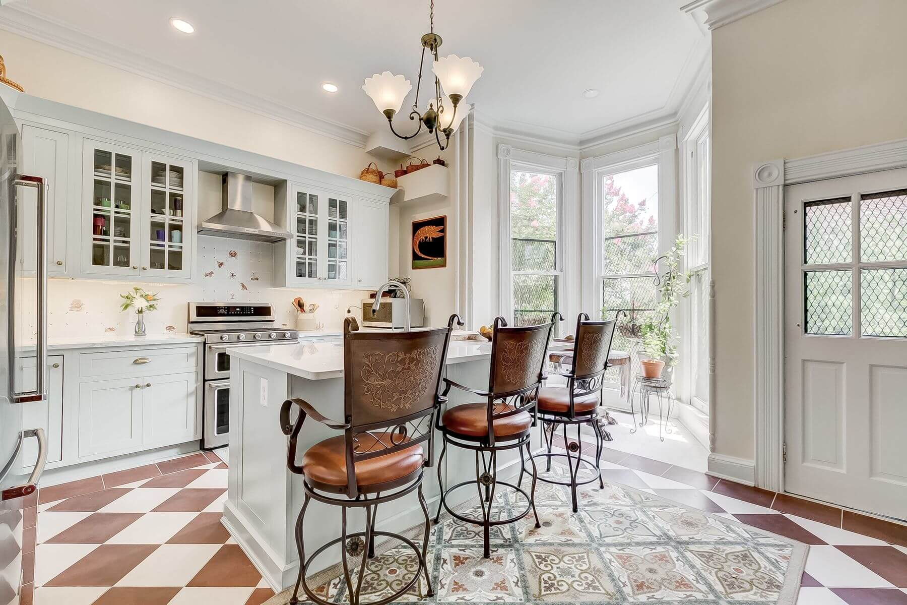 Bolton Hill Maryland Kitchen Redesign and Renovation